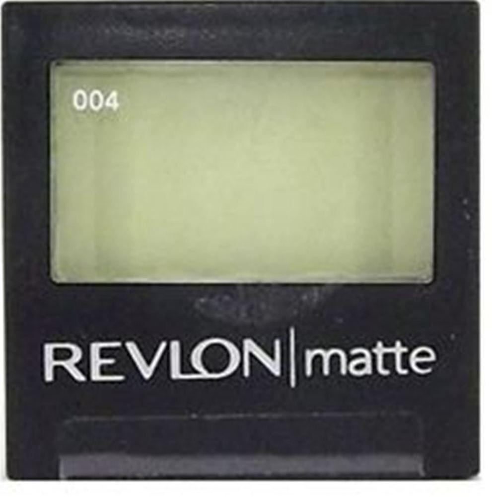 REVLON LUXURIOUS COLOR MATTE EYE SHADOW # 004 LUSCIOUS LIME 2.4gm ...