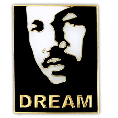 Dream Lapel Pin | Martin luther king, Martin luther king ...