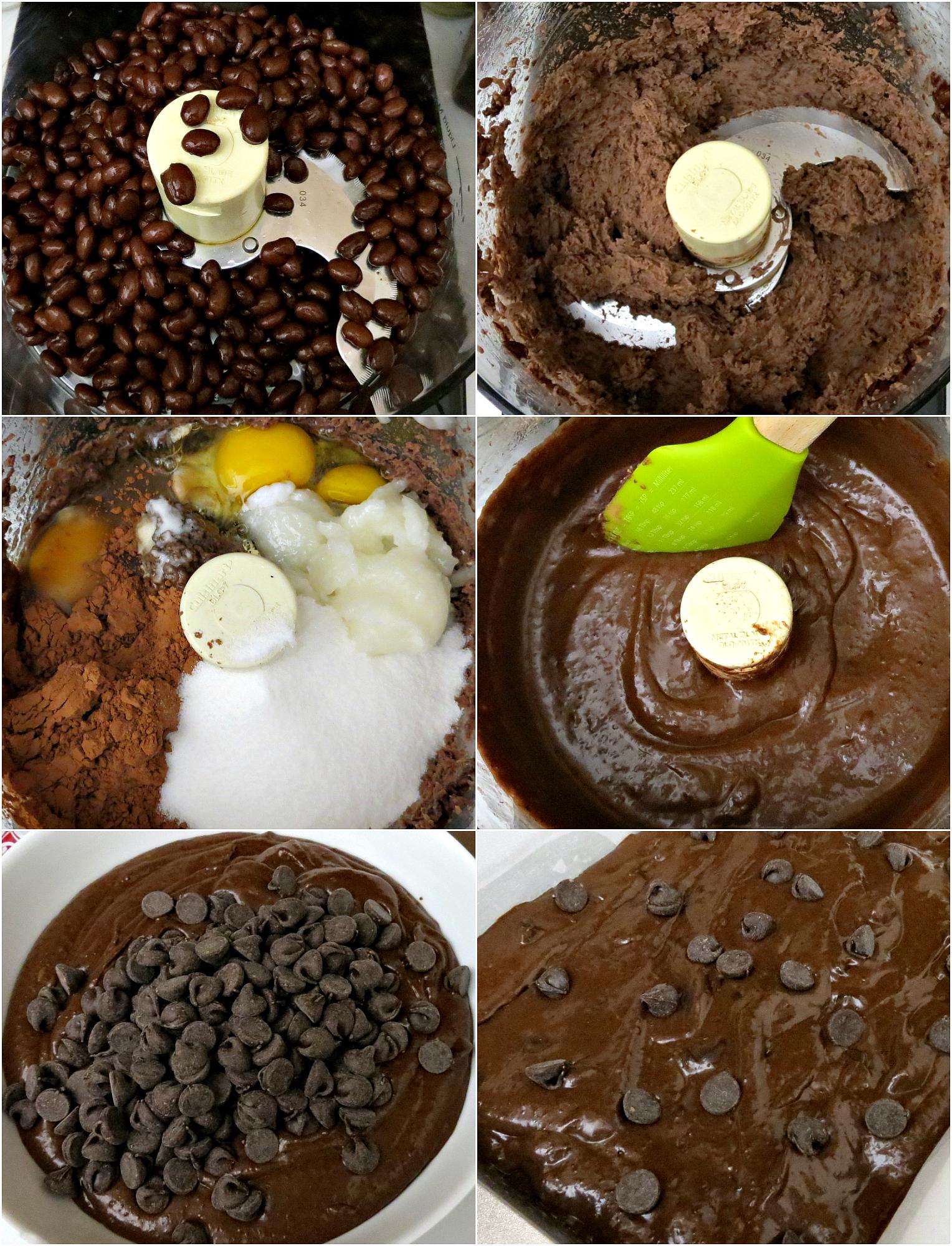 Gluten Free Black Beans Brownies