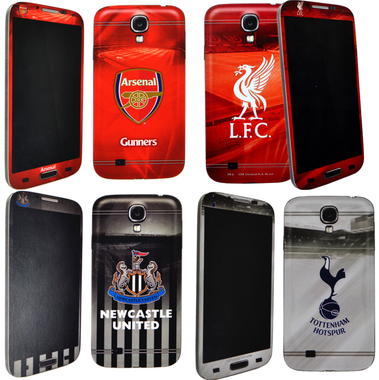 Samsung Galaxy S4 Licensed Football Mobile Phone Skin