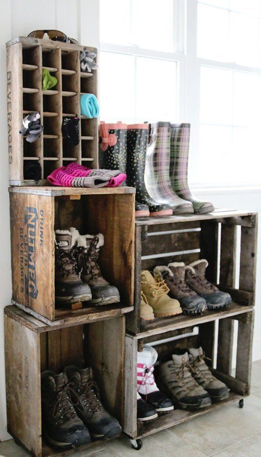 Show Off Your Style 10 Decorative Ways To Organize Shoes Accessories Apartment Therapy