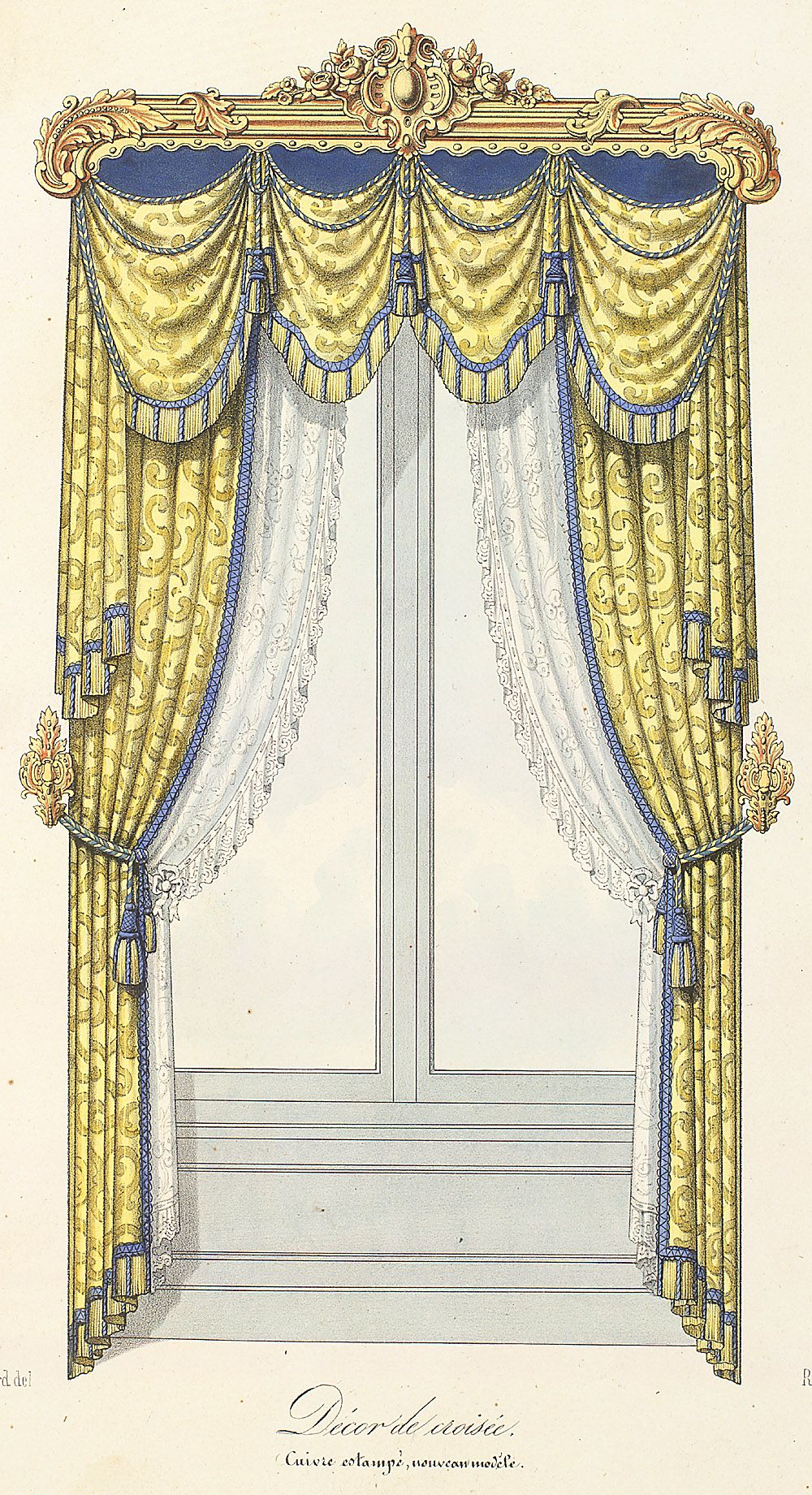 Victorian Style Window Dressing Victorian Curtains Victorian