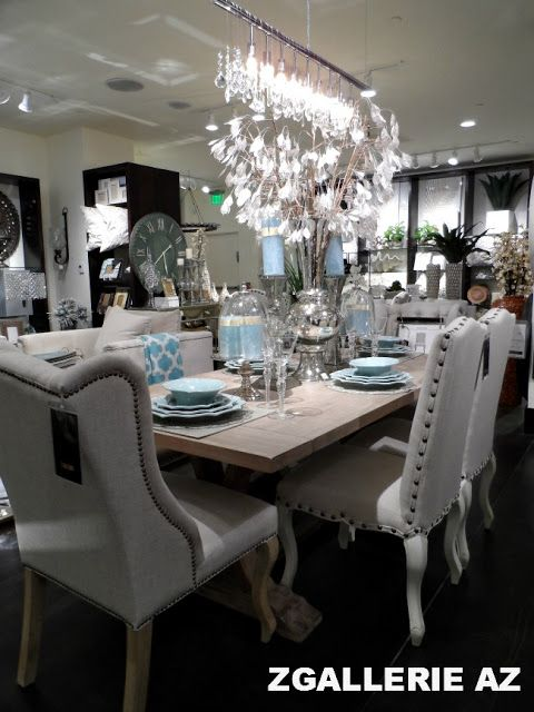 Z Gallerie Scottsdale Reopening Store Tour Dining Room Paint