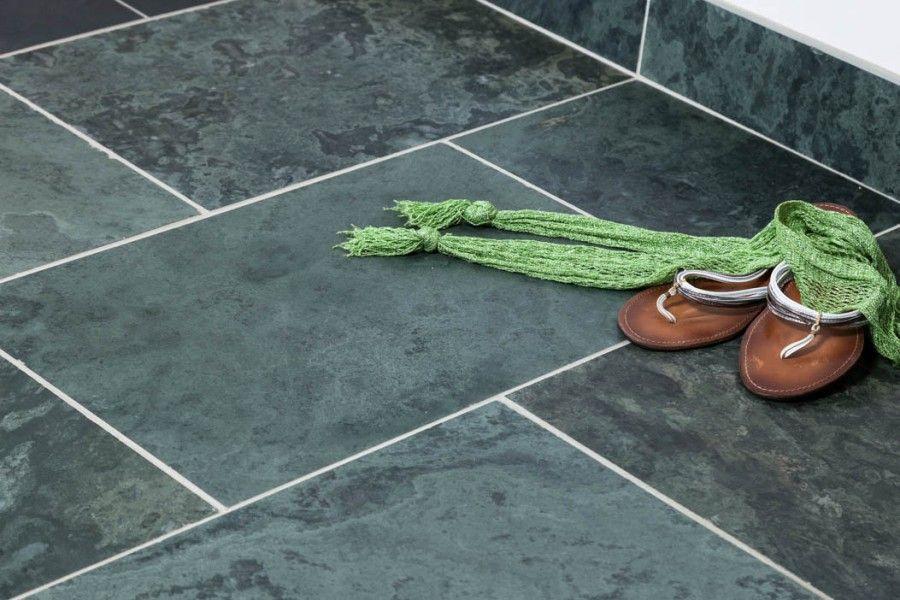 Green Slate Honed Tiles Kitchen Options Pinterest Slate Slate