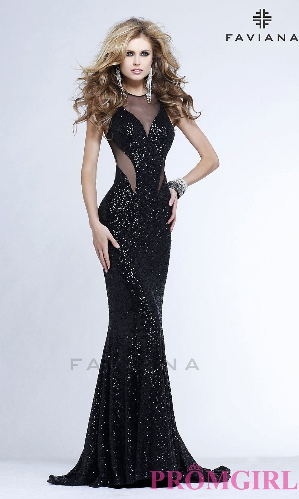 Long prom dress style fa front image governors ball