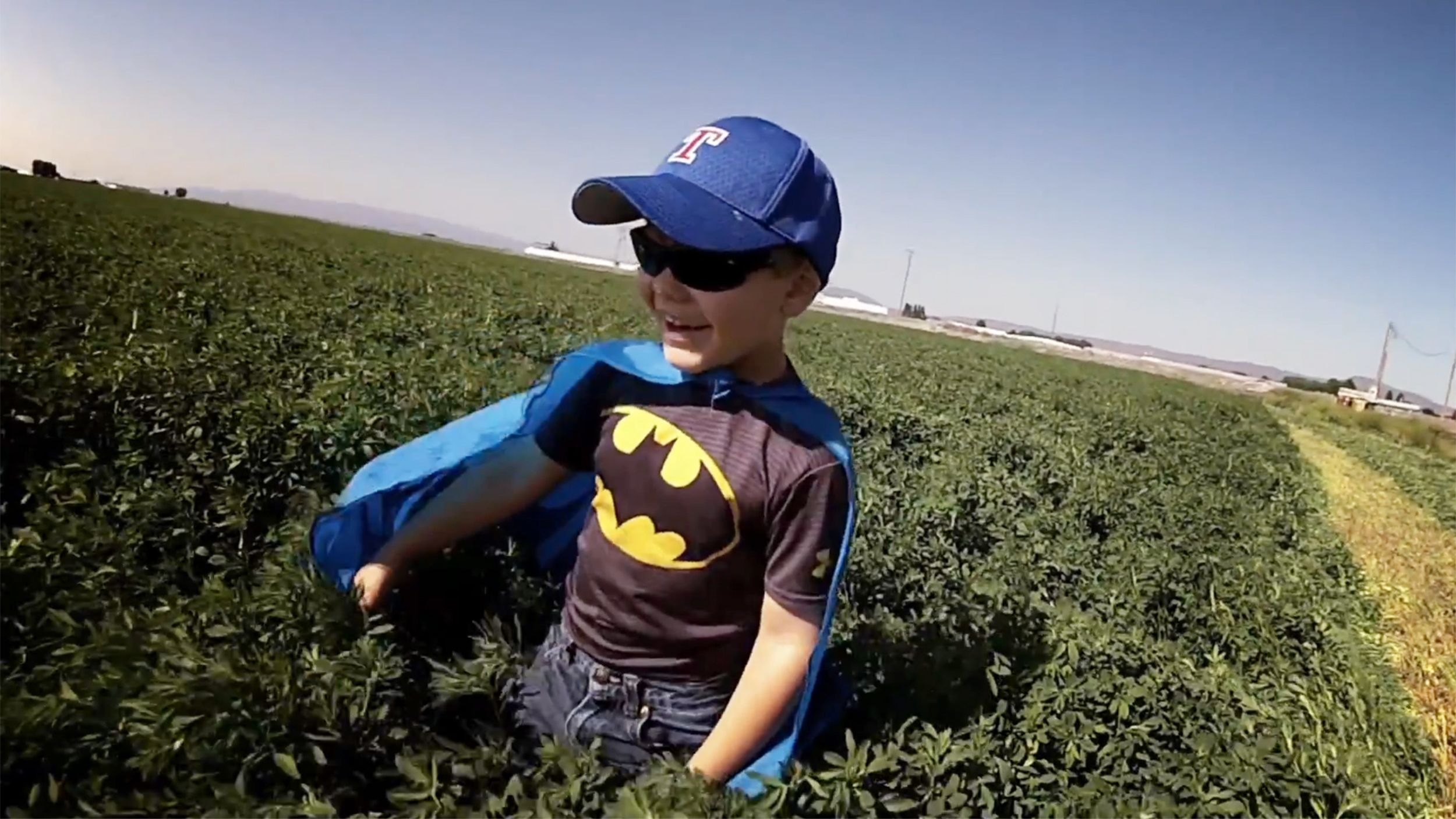 Pow! Fresh footage unveiled for 'Batkid Begins' at Comic-Con