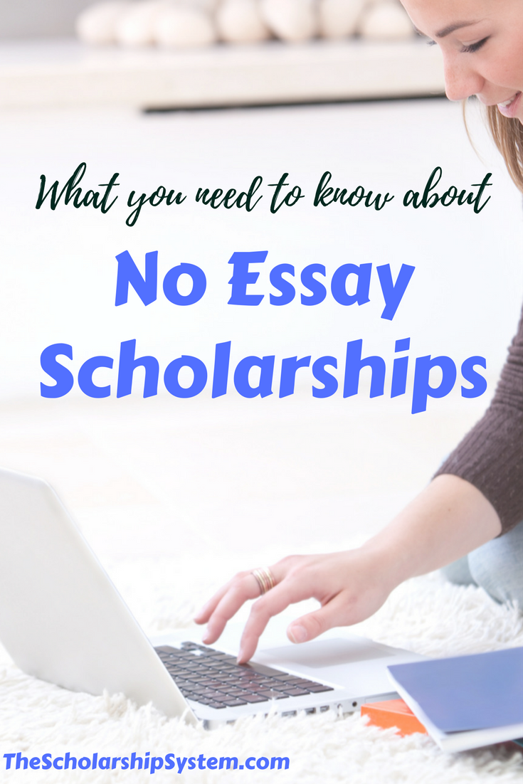 What You Need To Know About No Essay Scholarships | Forever in ...