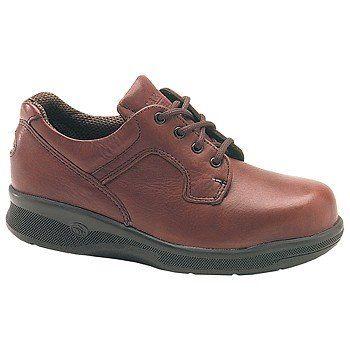 Carolina Shoe ESD NatureToeOxfordST Shoes (Burnt Maple) - Women's Shoes - 10.0 M