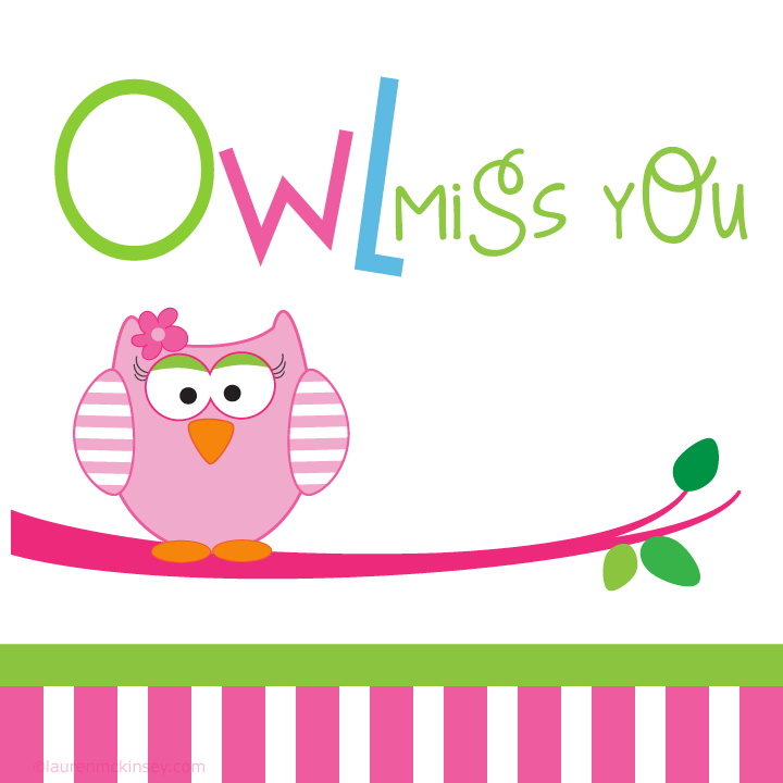 photograph about Owl Miss You Printable identify Printable+Owl+Pass up+Yourself pre faculty Miss out on by yourself items, Owl