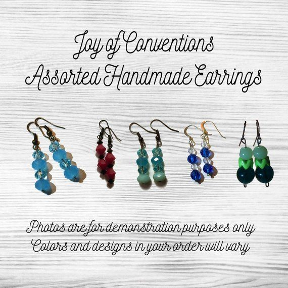 JW Convention Gifts - Handmade Dangle & Drop Earrings