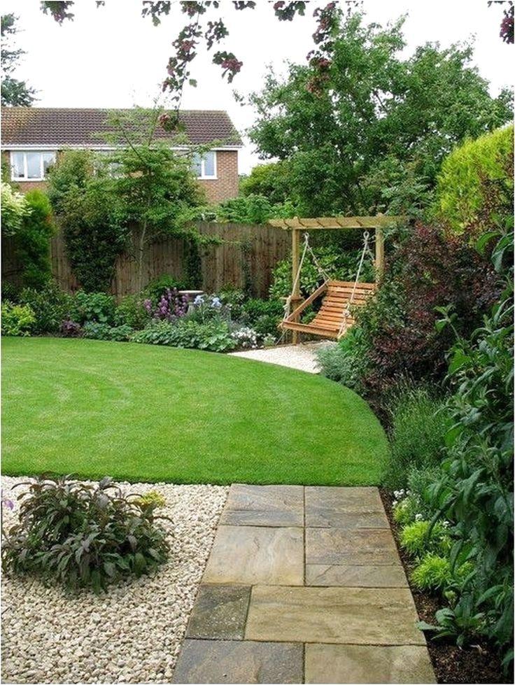 55 Beautiful Backyard Landscaping Along Fence Decoration Ideas #BackyardLandscaping #BackyardIdeas   #beautifulbackyards