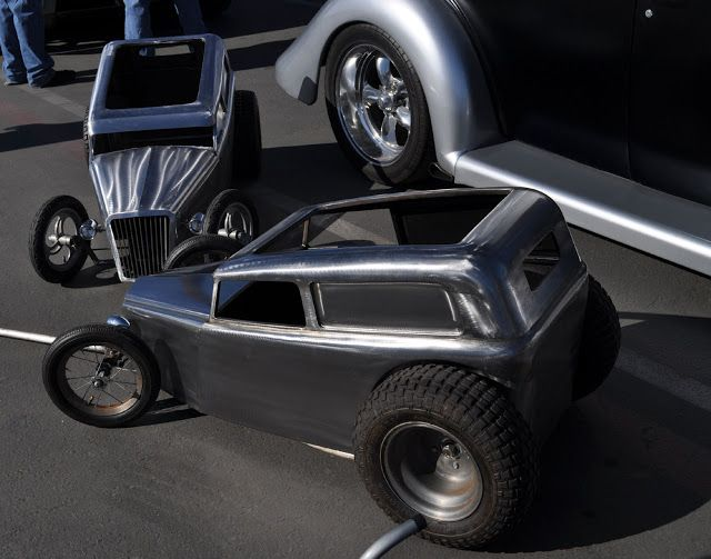 Just a Car Guy: in one of these, your kids would be the coolest on wheels at a car show or where ever they can get you to pull them around