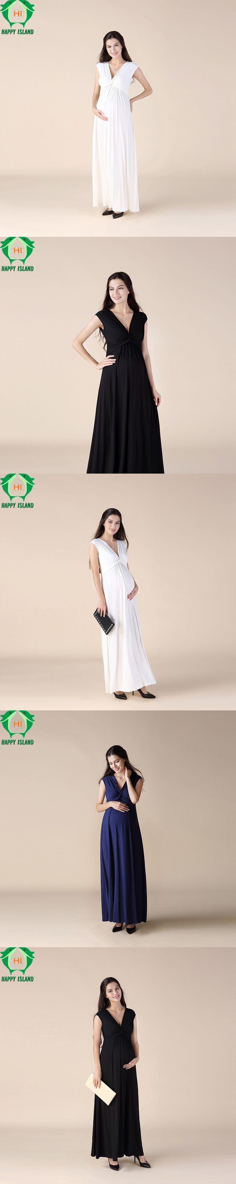 Brand tencellycra sleeveless long dresses for pregnant women summer