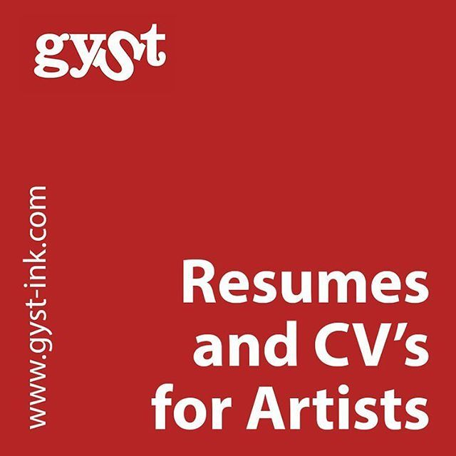 Find me in the GYST Artist Manual with best practices info on how - resume best practices