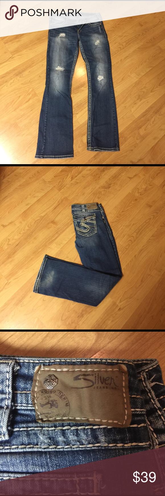 Silver Jeans Size 32/33 silver jeans. Silver Jeans Pants Boot Cut ...