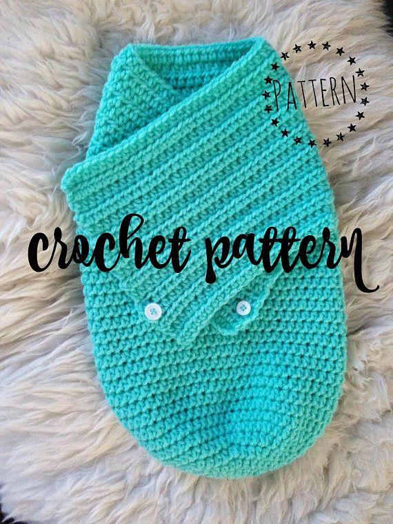 Swaddle Cocoon Crochet Pattern Crochet Baby Pattern Swaddle