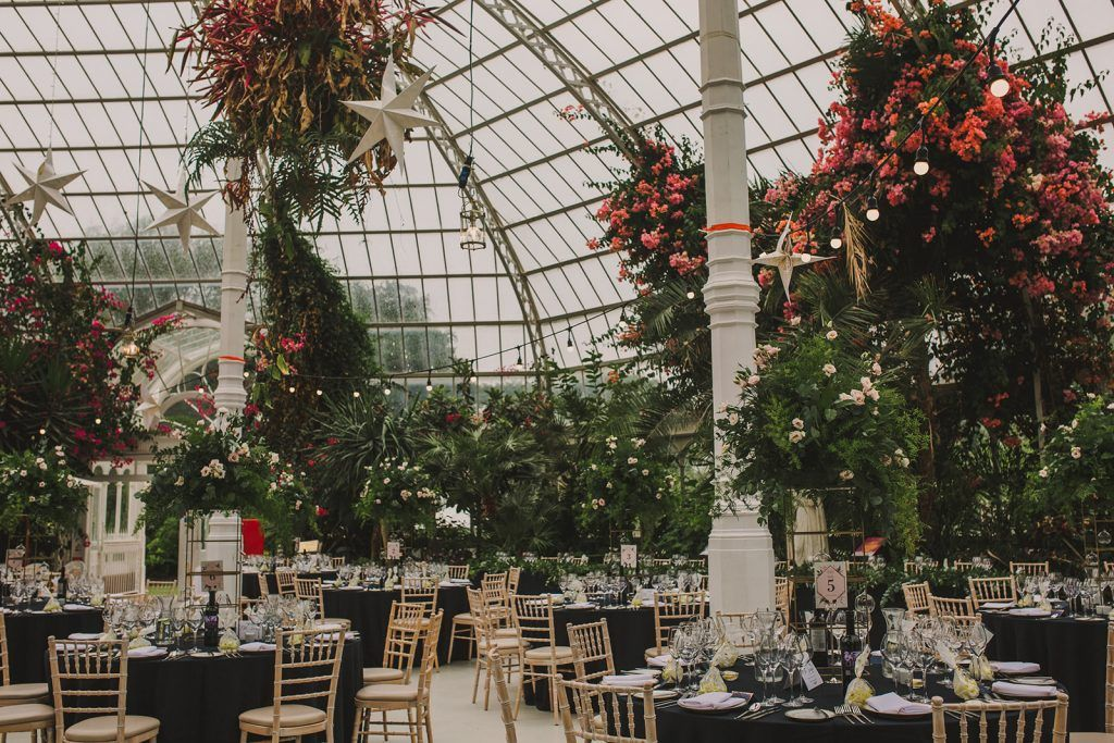 A destination wedding in liverpools sefton palm house