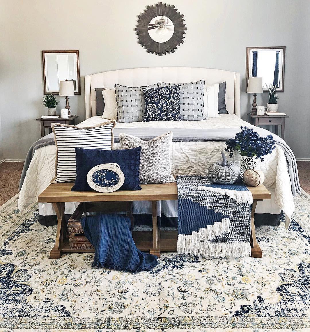 Master bedroom-navy blue bedroom | Navy blue bedrooms ...