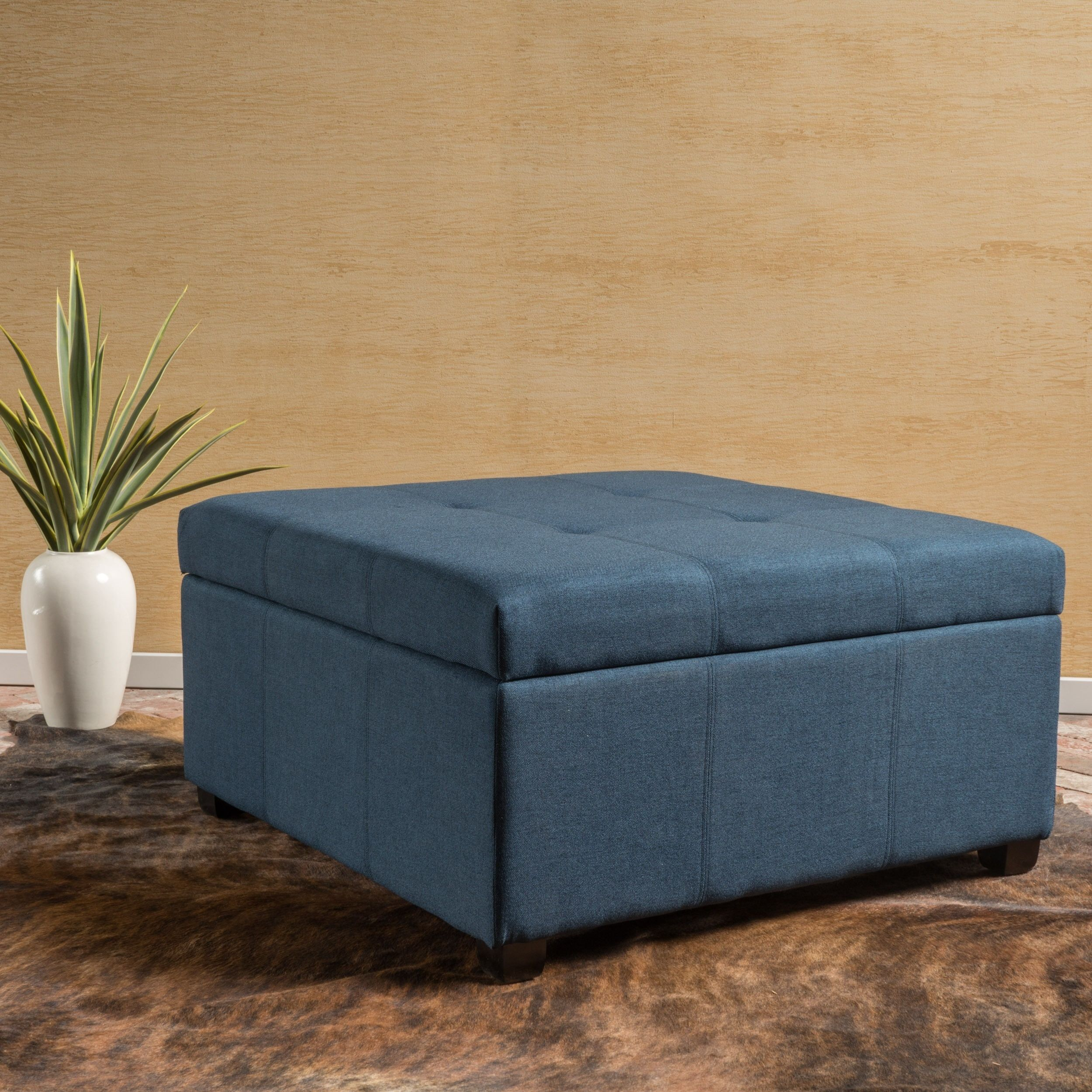 Square Storage Ottoman Ottomans Kick Up Your Feet And Rest Them On Top Of One These Can Add A Footrest To Chairs That Do
