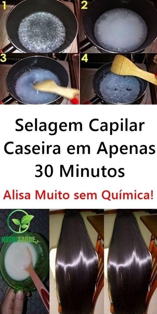 Selagem Capilar Caseira em 30 Minutos - Alisa Muit