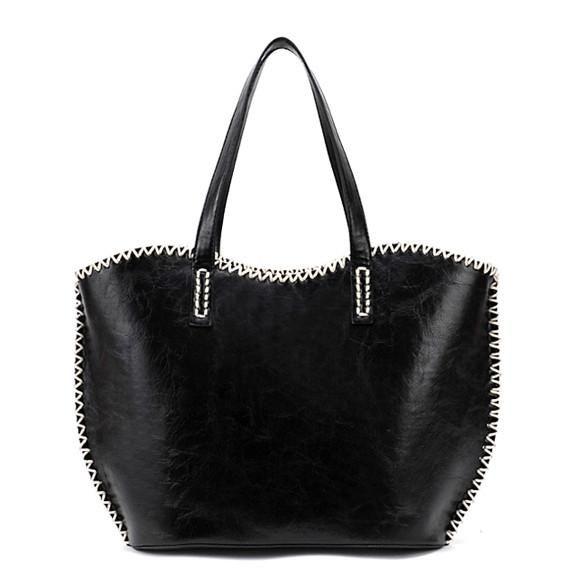 e41086c005 New Fashion Women s Girls Fashion Western Pattern Plaited Side PU Leather Tote  Bag Shoulder Bag Handbag