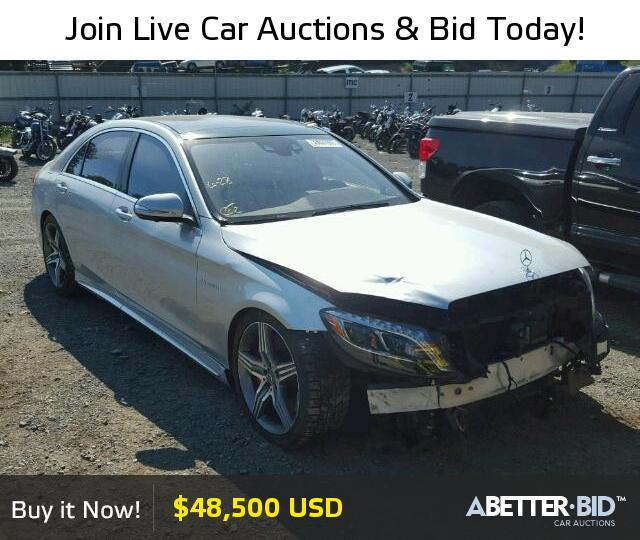 Salvage 2014 Mercedes Benz Sl63 65 For Sale Wddug7jb1ea032999 Https Abetter Bid En 33621977 2014 Mercedes Benz S Luxury Cars For Sale Mercedes Benz Benz