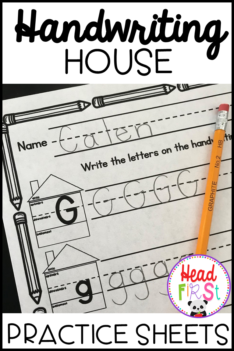 Help Young Writers To Use Handwriting Lines Correctly With The Handwriting House These Practice Sheets Will Lettering Handwriting Practice Worksheets Writing [ 1152 x 768 Pixel ]