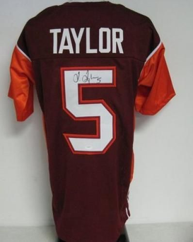 7ff4dcb2602 Tyrod Taylor Autographed Virginia Tech Hokies Jersey - JSA - Sports  Memorabilia