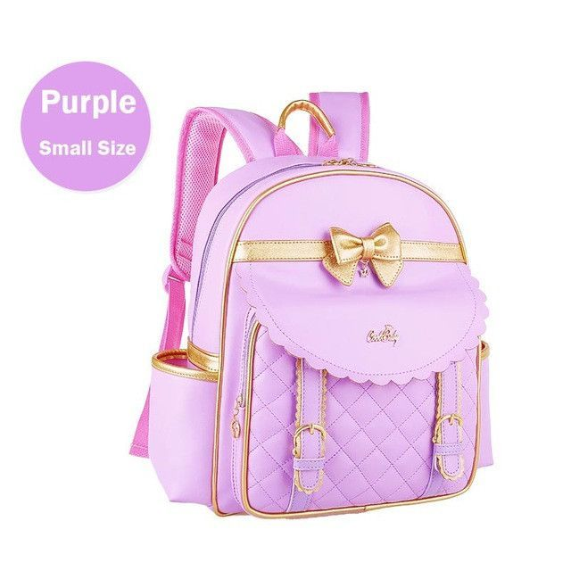 Girls Children Kid Bow Backpack School Bookbag Travel Rucksack Bowknot