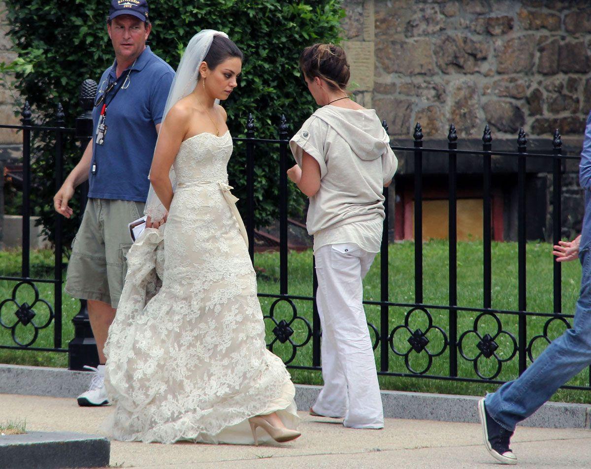 Mila Kunis and Mark Wahlberg Wedding