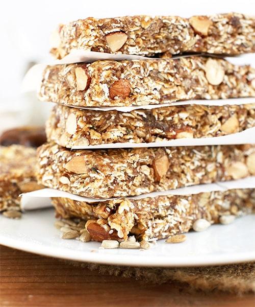 Vegane Müsliriegel selber machen ++ Meeeegalecker & gesund