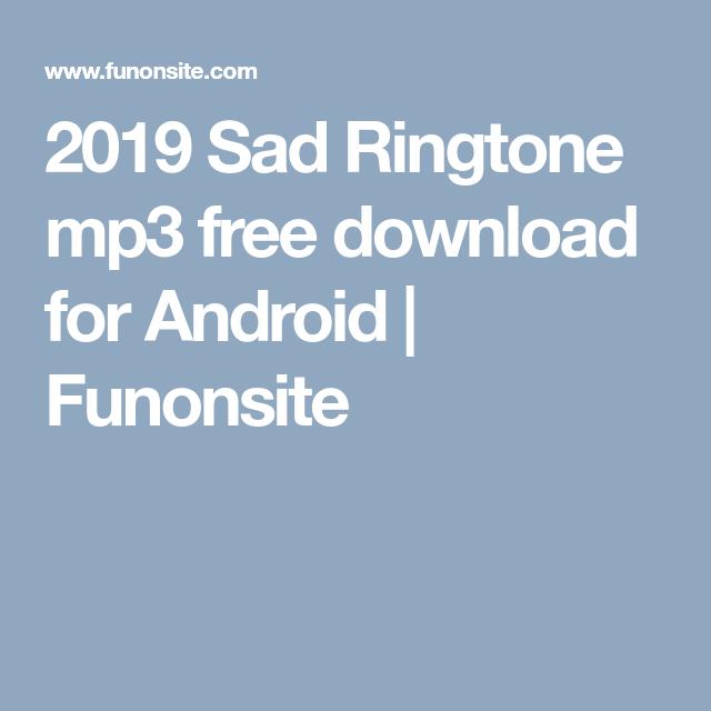 ringtone download mp3 2019