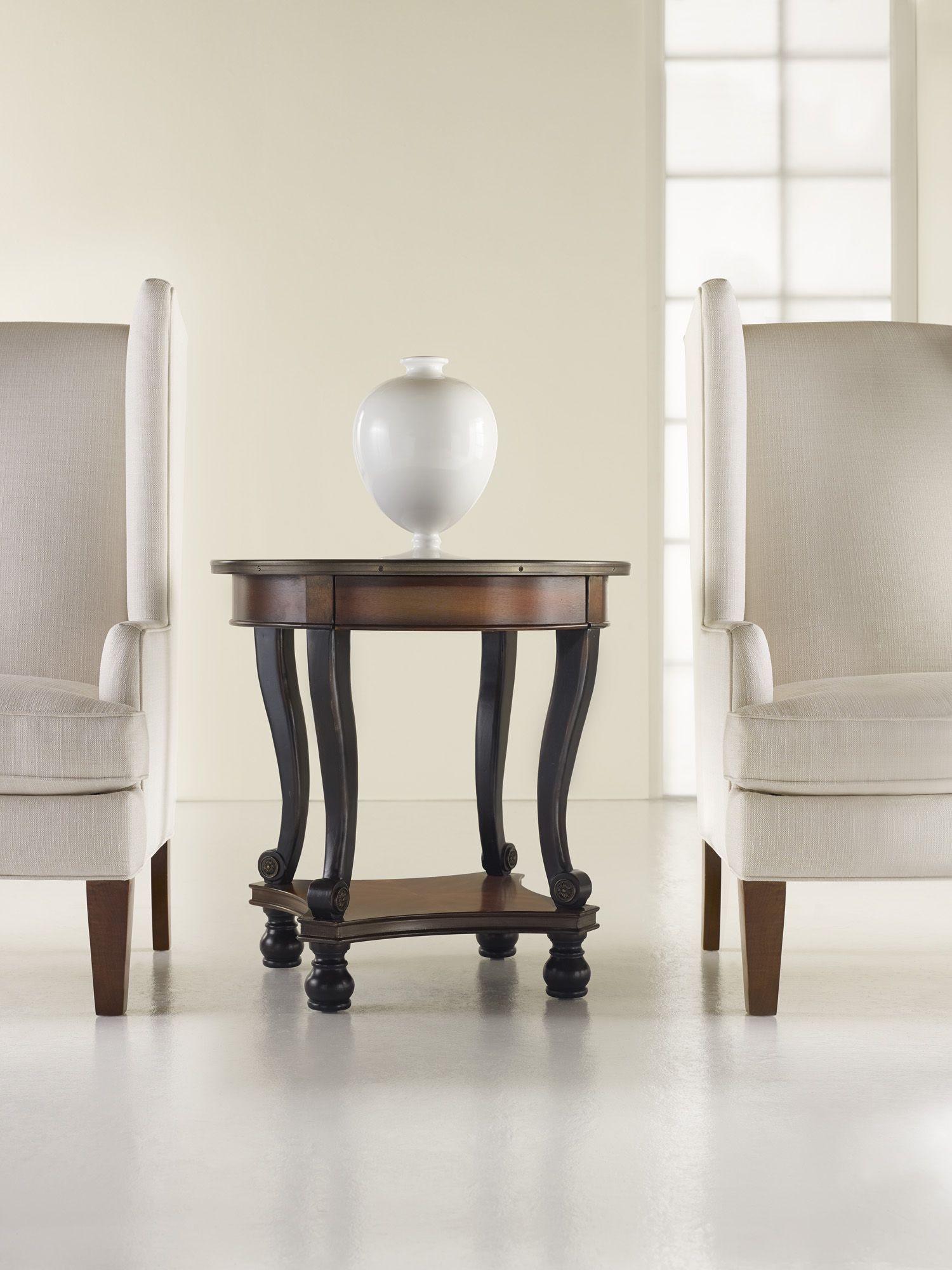 Captivating H Contract Furniture | 453 80 116 Prescott Round Lamp Table