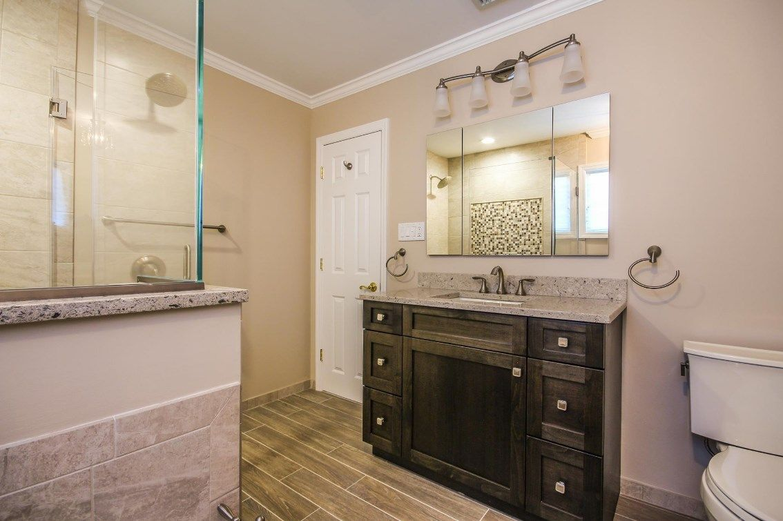 Project Highlight Check Out This Beautiful Bathroom Designed By Ken Gold Of Alure Home Improvements In Ea Beautiful Bathroom Designs Bathroom Design Cabinetry