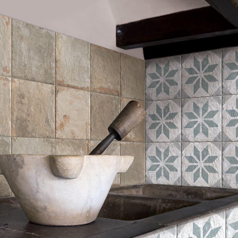 Carrelage Interieur Sol Et Mur Effet Terre Cuite 20x20 Malecon