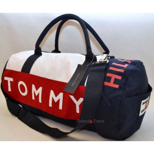 997dcd7a6a2c Tommy Hilfiger Red and Blue Large Duffel Travel Bag 467 for  49.99 at  OrlandoTrend.com  Tommy  TommyHilfiger  Duffel  Gym  Travel  Bag   OrlandoTrend
