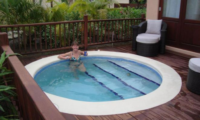 Small Pools Small Yards, Small piscinas Pinterest Piscina
