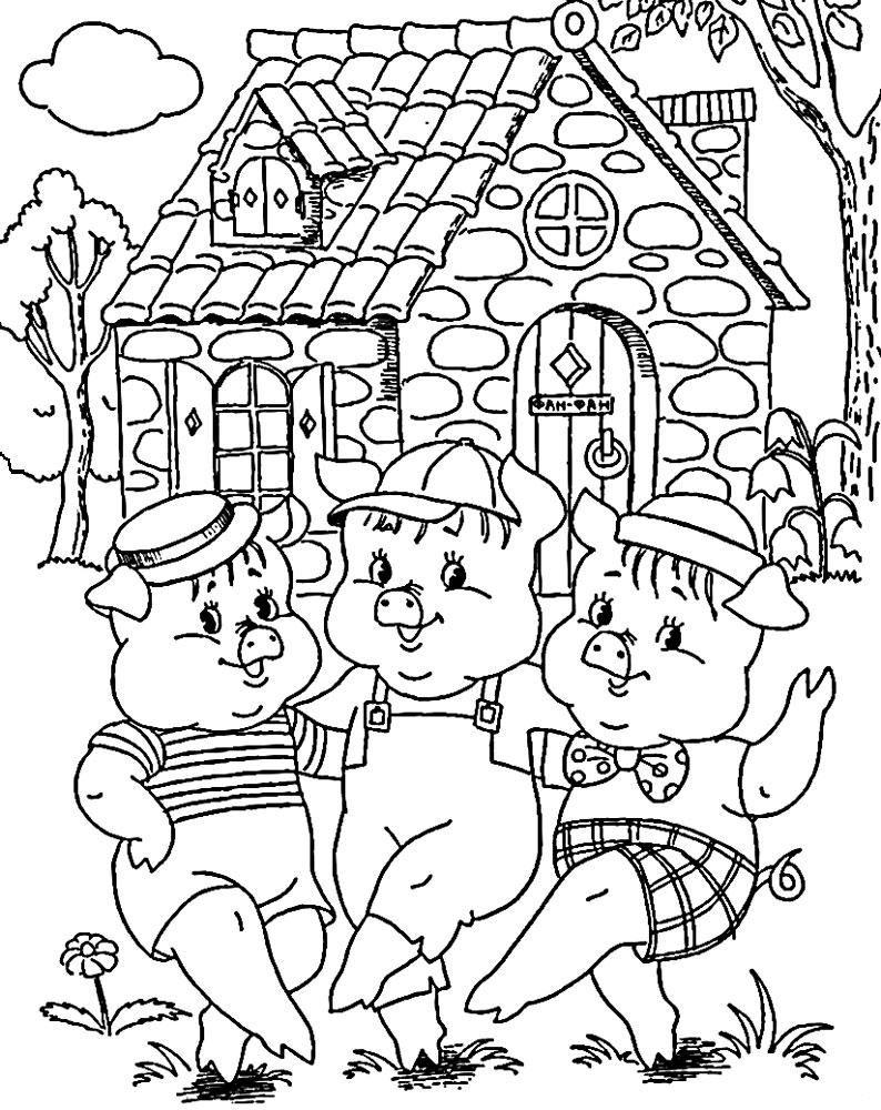 Сказочные раскраски Раскраски детские pinterest painting templates