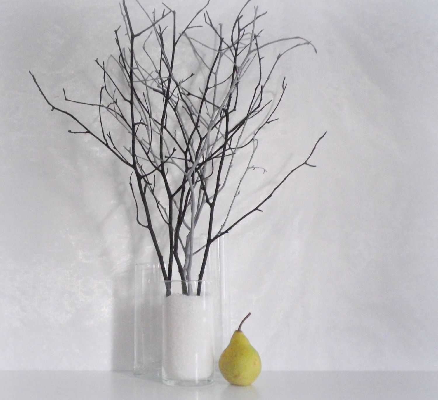 Woodland Home Decor Branches Black Grey Branches Contemporary Decor Decorating Supply Modern Minimalist Decoration Idea Vase Filler European Home Decor Branch Decor Minimalist Decor