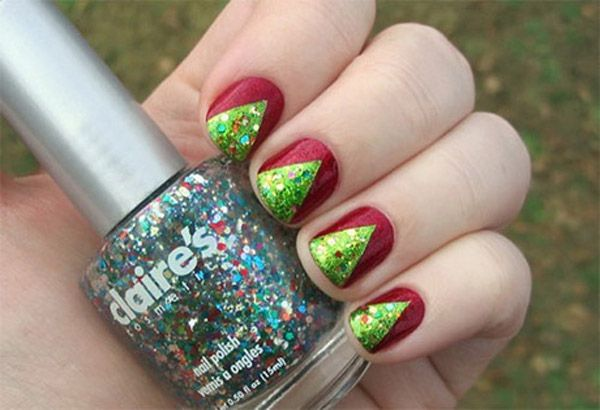 Simple Christmas Nail Art Designs All About Christmas Candy Canes