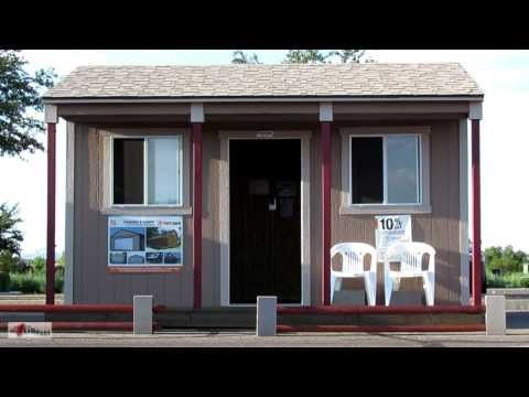 Tiny Home Living Idea ~ Tuff Shed   YouTube