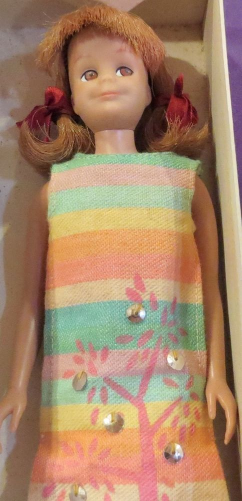 Vintage 60's Barbie Doll Friend, Scooter in Original Box w/Tagged Dress | eBay