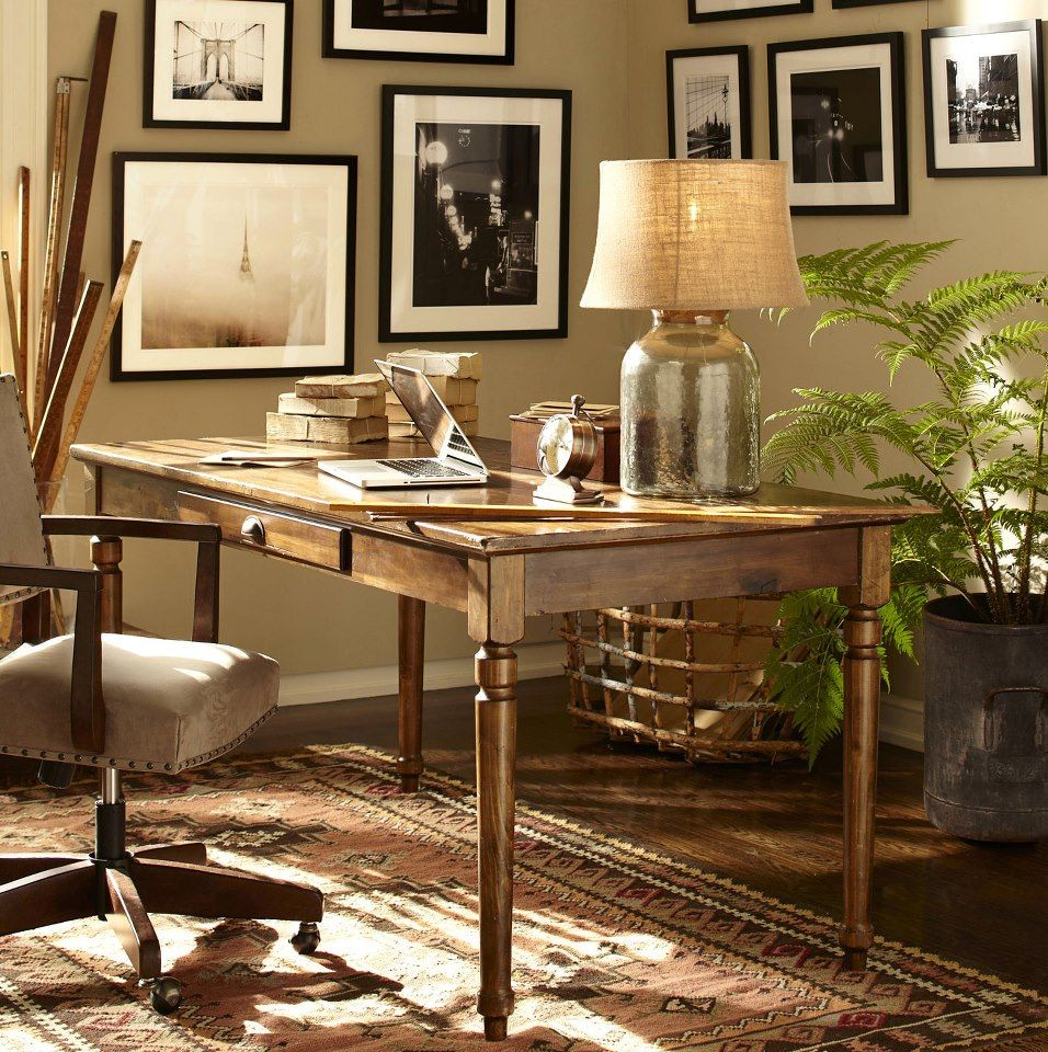 Pottery Barn Office Idea For Him