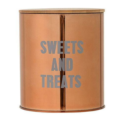 """Found it at AllModern - """"Sweets and Treats"""" Stainless Steel Container"""