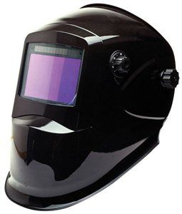 An auto darkening welding helmet can improve welding because it is easier to see where you are holding your gun or electrode before starting the weld