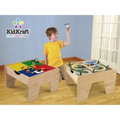 Kidkraft 2-in-1 Activity Table | Lego table, Lego and Kid kraft