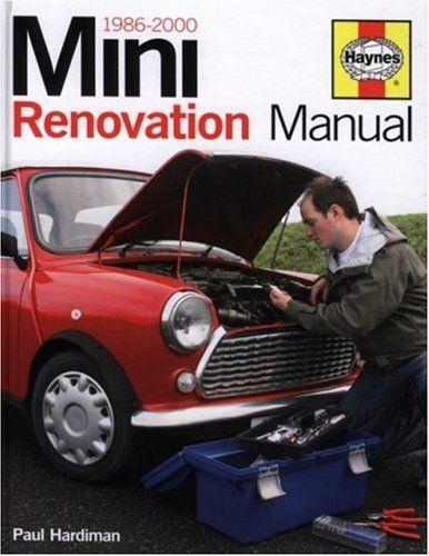 mini renovation manual 1986 2000 haynes manuals 43 85 classic rh pinterest com Haynes Manual GMC Jimmy 1995-2001 bmw mini repair manual pdf