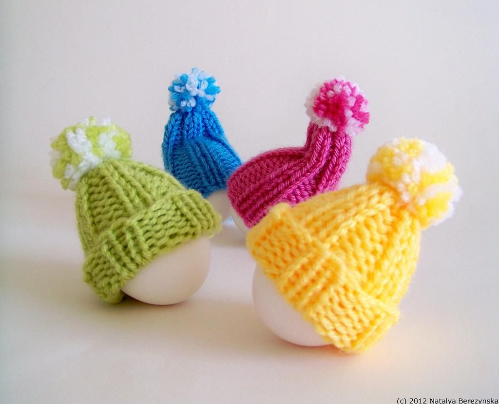 Easter Egg Cozy Hat - Easter Decor (With images) | Easter ...
