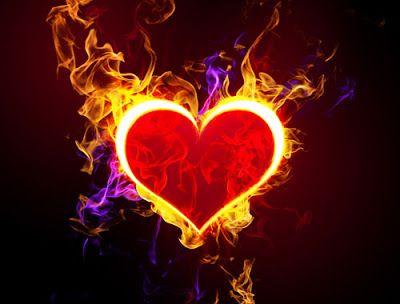 Picture Love Heart Wallpaper Fire Heart Heart Wallpaper Animated Heart