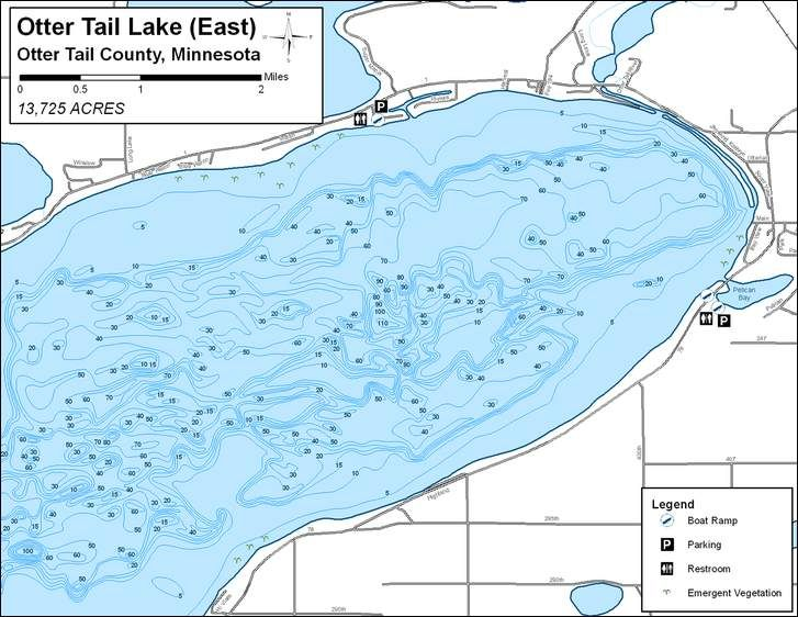 otter tail lake map Fish Otter Tail Otter Tail County Minnesota Lake Minnesota otter tail lake map